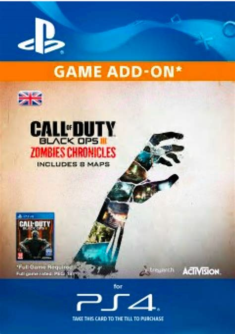 Get Call of Duty (COD) Black Ops III 3 Zombie Chronicles