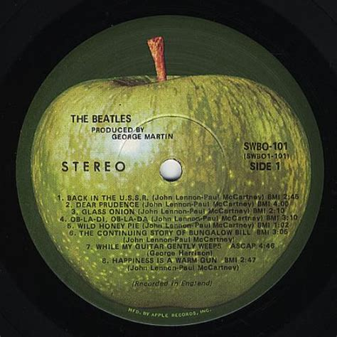 The Beatles The Beatles [White Album] - Mfd By Apple US 2