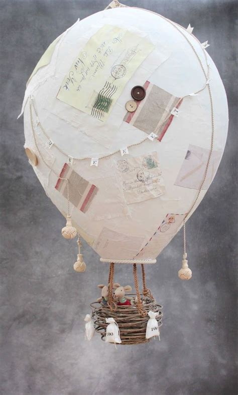 paper hot air balloon decoration | http://lomets