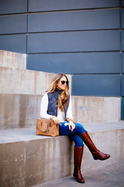 Quilted Vest & Riding Boots   The Teacher Diva: a Dallas