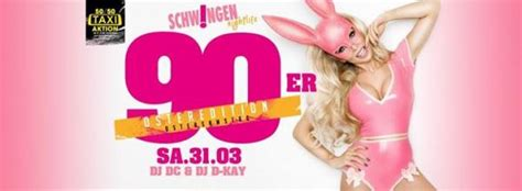 90er Party Osteredition - Tanzpalast Schwingen in Kulmbach