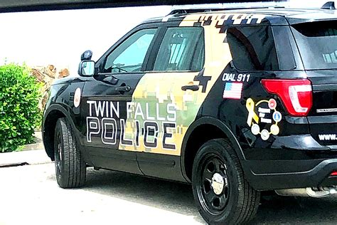 Twin Falls Police Has New Military Themed Patrol Car