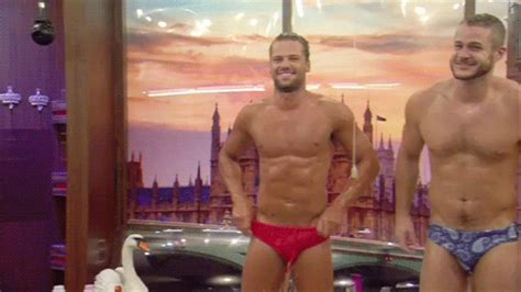 MAN CANDY: Apprentice Star James Hill Packs Out Speedos in