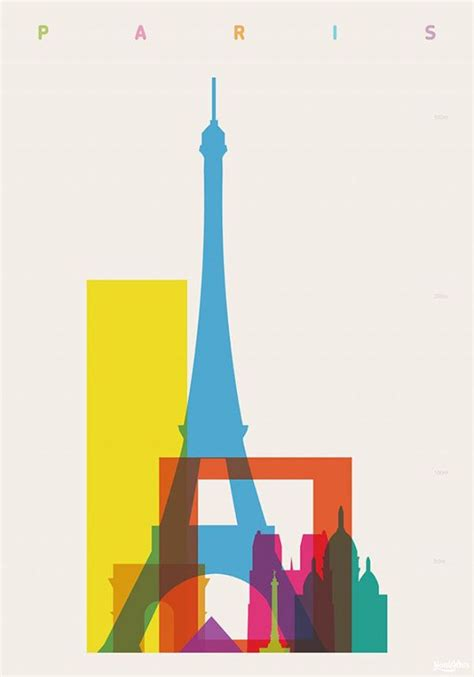 Screen Prints Show Landmark Mashup in 'Shapes of Cities