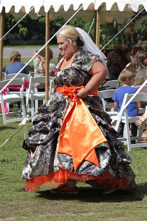 Mama June Got Married In A Camouflage Wedding Dress This