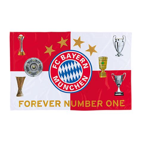 Flag Trophies 150 x 100 cm | Official FC Bayern Online Store