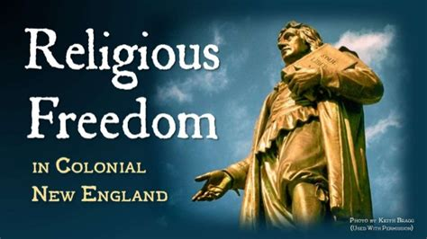 Religious Freedom in Colonial New England: Roger Williams