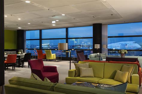 Geberit know-how in the VIP lounge at Frankfurt Airport