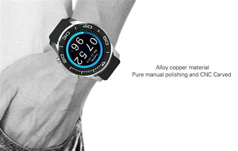 LES1 SmartWatch Heart Rate Monitor Android Smartwatch in