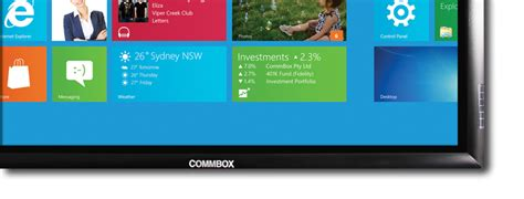 Sydney AV – Commbox Interactive Touchscreens For Hire