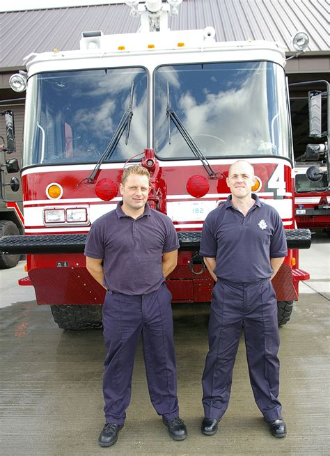 British firefighters receive medals from Defence Fire