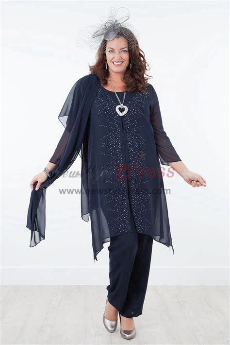 Royal blue Mother of the bride dresses with shawl Chiffon