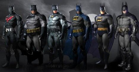Batman (Bruce Wayne can only be played as in the Prison