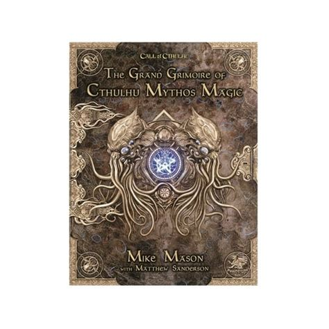 Chaosium Call of Cthulhu 7th Edition: The Grand Grimoire