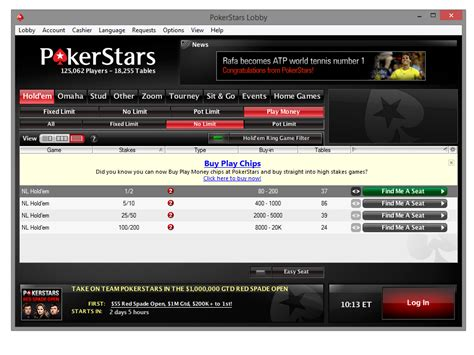 Play Money Chips Purchase Comes to PokerStars Client