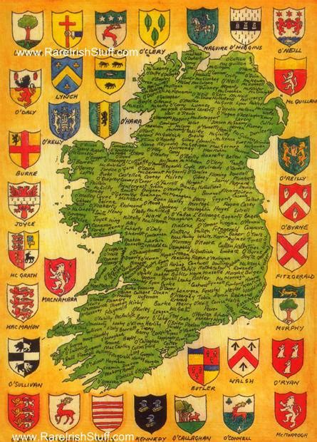 History of your Irish surname name