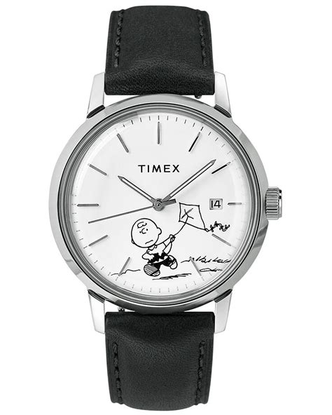 Timex Marlin Automatic Charlie Brown Black/White Dial bei