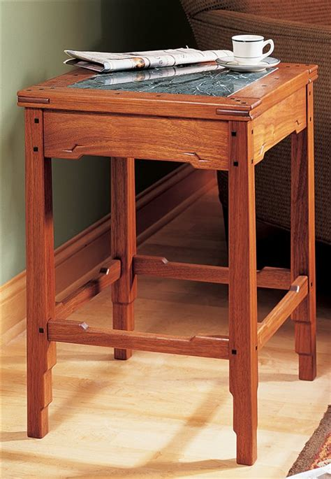 Greene and Greene-Style Side Table - Popular Woodworking
