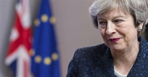 """Theresa Mays Brexit-Appell an Abgeordnete: """"Nerven"""