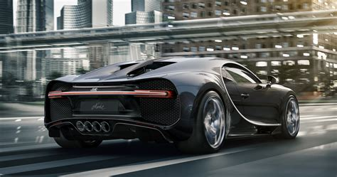 Bugatti Edition Chiron Noire Limited to 20 Units, Priced