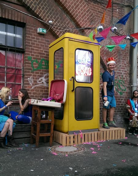 Party in a phone booth: the world's smallest discos