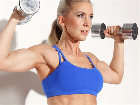 Top 10 to Shapely Arms and Chest - Women Fitness