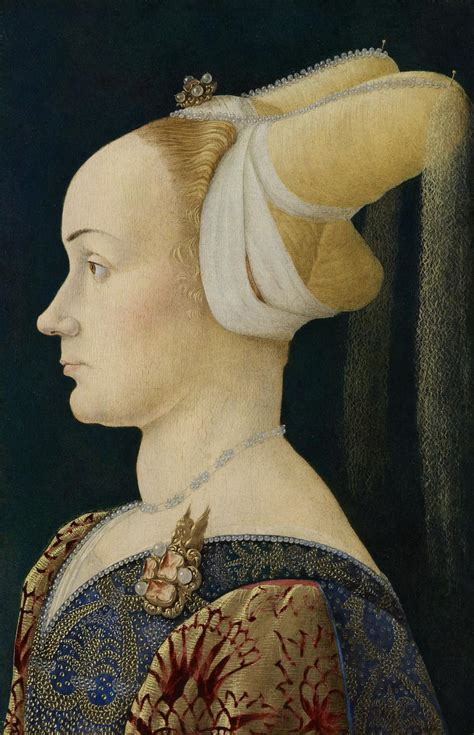 Profile portrait of a lady | NORTHERN ITALY | NGV | View Work