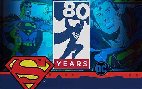 Superman's long 80 year comic book history celebrated in