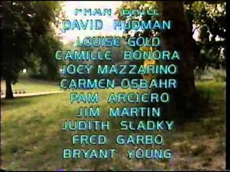 """Sesame Street- special """"classic"""" closing credit sequence"""
