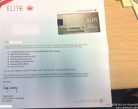 What's in the Air Canada Elite Kit? - Economy Class & Beyond