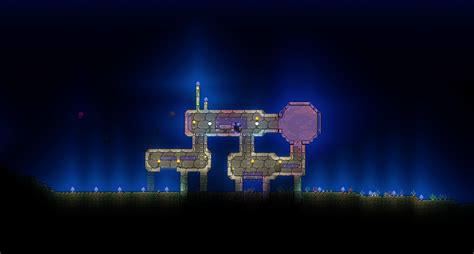 The Crimsea research station, my current project : Terraria