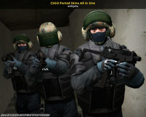 CSGO Ported Skins All In One [Counter-Strike: Source