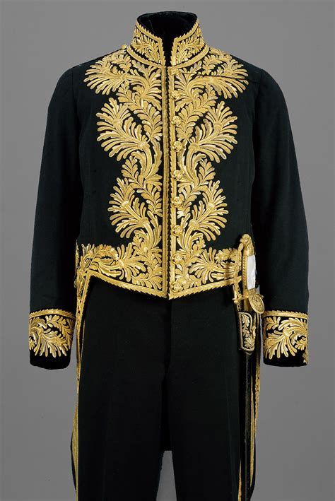 Tailcoat from the gala uniform of a diplomatic envoy from