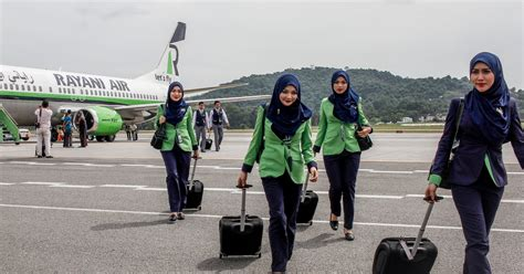 Flying Sharia-Air? Meet the Flight Attendants Required to