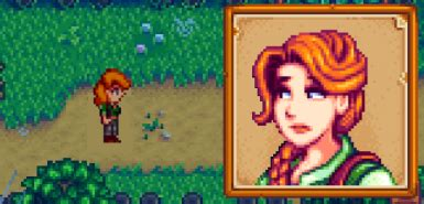 Dark-Haired Leah at Stardew Valley Nexus - Mods and community