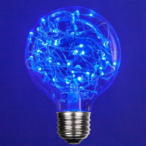 G80 120V Blue LED Replacement Bulbs - Wintergreen Corporation