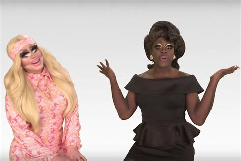 Bob The Drag Queen fills in for Katya on 'The Trixie