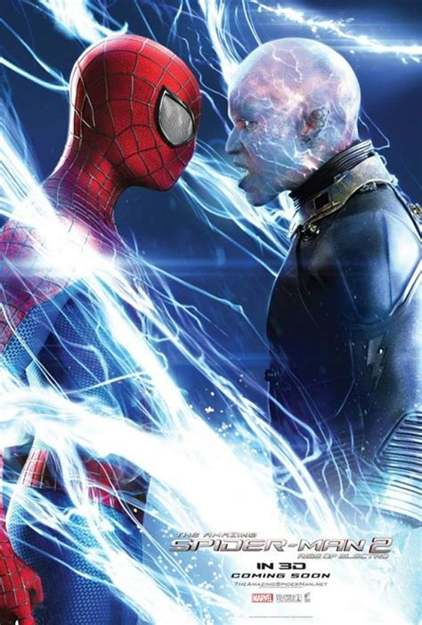 Spidey and Electro face-off in new poster for The Amazing