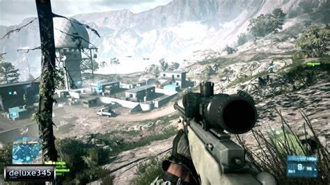 Battlefield 3 Multiplayer: Sniper Footage (PC HD) - YouTube