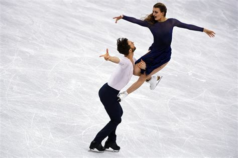 French Olympic Ice Dancers Make Skating as Ethereal as