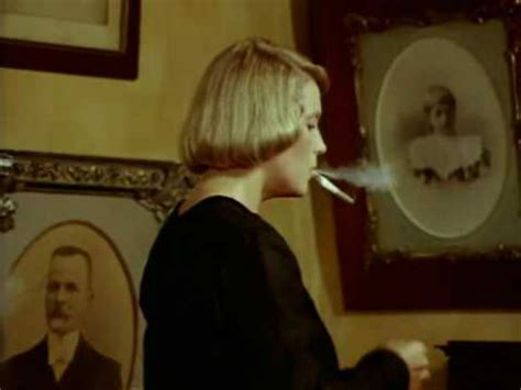 woman light up the cigarette - YouTube