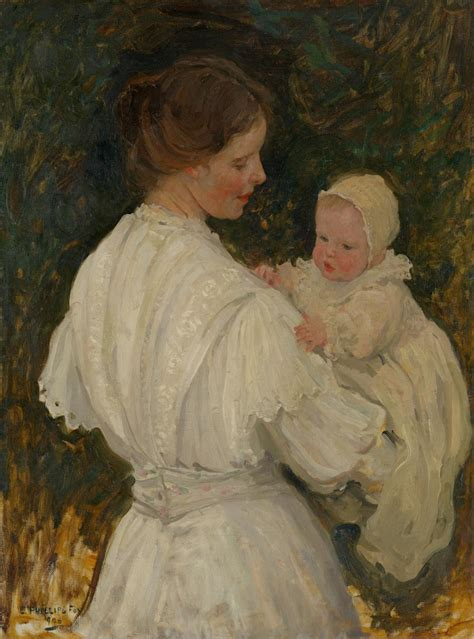 (Mother and child) | E