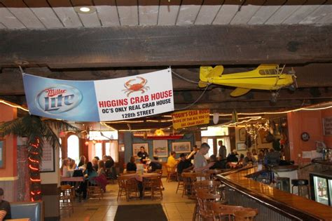 Reservations   Higgins Crab House Ocean City, Maryland