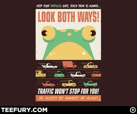 TeeFury Features Dave Perillo's Frogger-Inspired Tee | WIRED