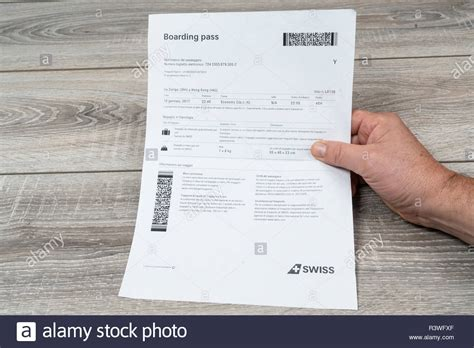 Airlines Ticket Stock Photos & Airlines Ticket Stock