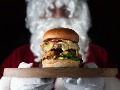 Christmas burgers in London - Time Out London