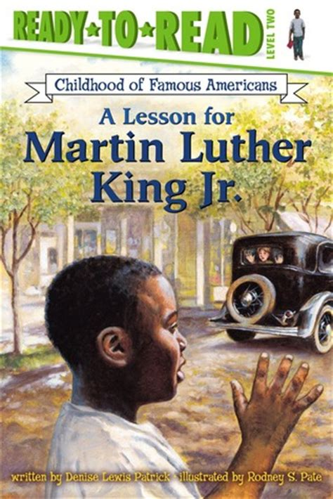 A Lesson for Martin Luther King Jr