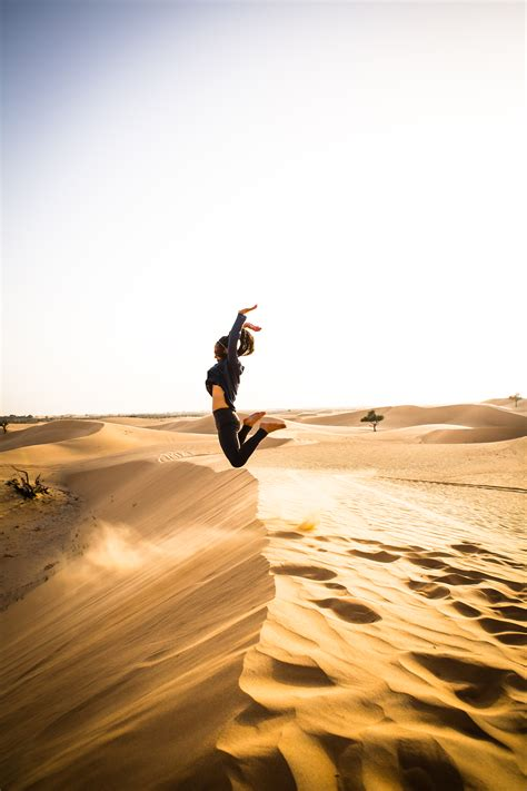 Free Images : landscape, sand, silhouette, girl, sunset