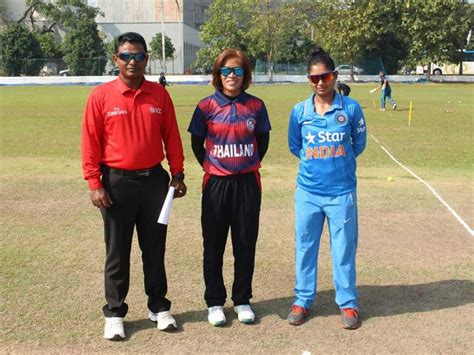 India Thrash Thailand by 9 Wickets in ICC Women's World