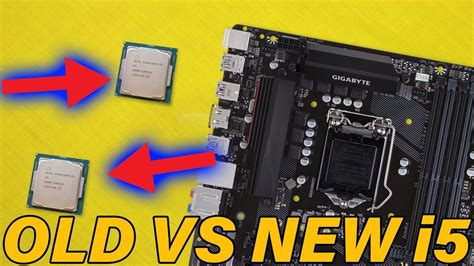 Intel First Gen i5 VS 8th Gen i5 - Much Of A Difference